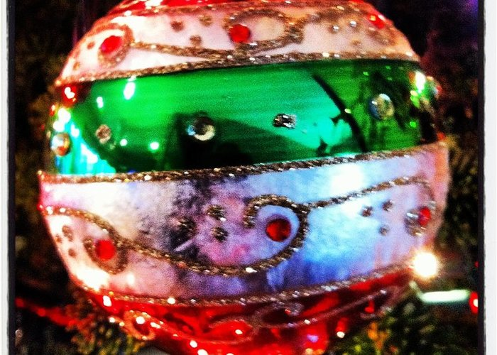 Christmas Ornament Greeting Card featuring the photograph Christmas Ornament by Artie Rawls