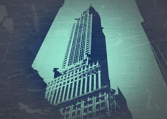Chrysler Building Greeting Card featuring the photograph Chrysler Building by Naxart Studio
