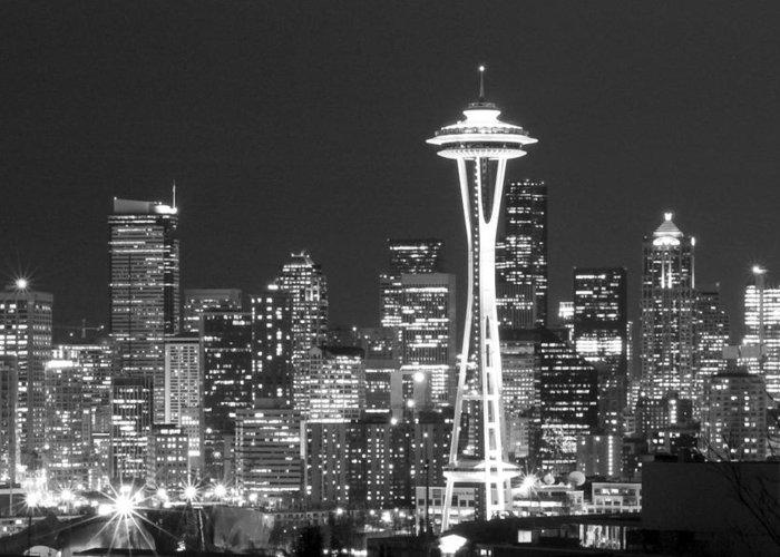 Seattle Landmarks Greeting Cards