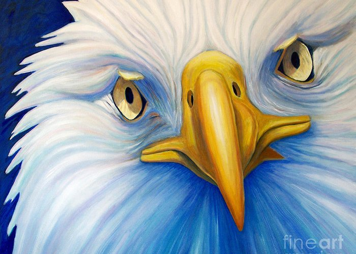 Bald Eagle Paintings Greeting Cards
