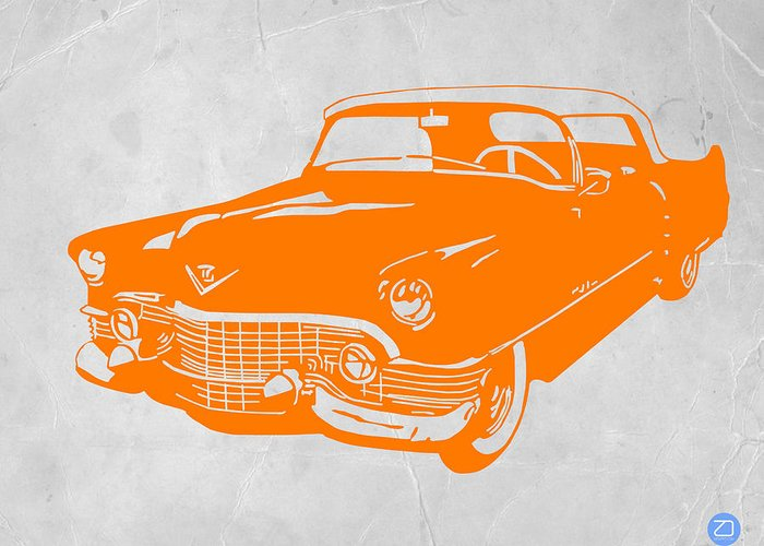 Chevy Greeting Card featuring the drawing Classic Chevy by Naxart Studio