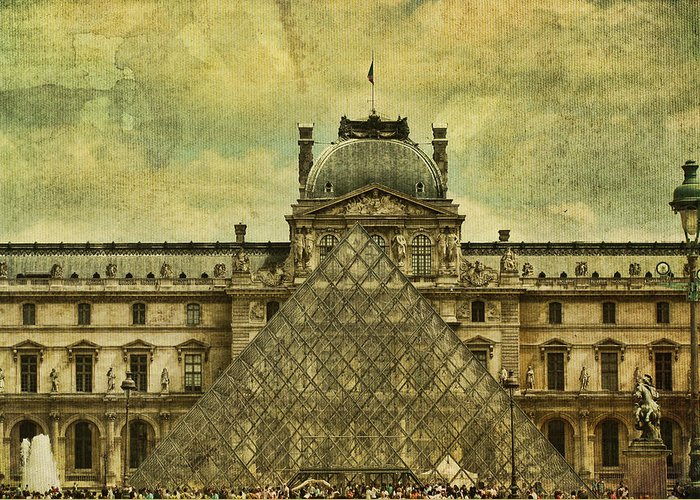 Paris Greeting Card featuring the photograph Classic Contradiction by Andrew Paranavitana