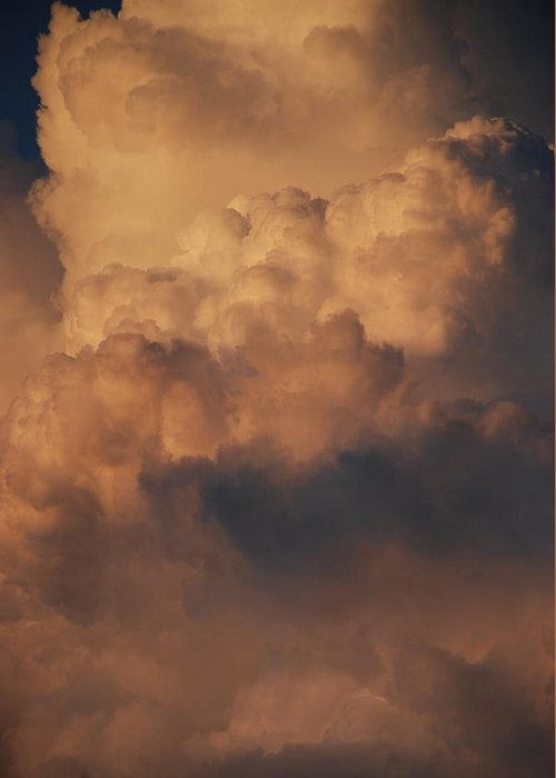 Clouds Greeting Card featuring the photograph Clouds In Color by Rob Hans
