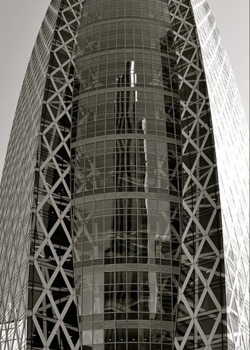 Cocoon Tower Greeting Card featuring the photograph Cocoon by Corinne Rhode