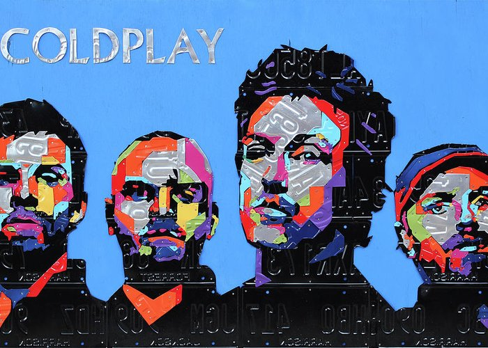 Coldplay Greeting Cards