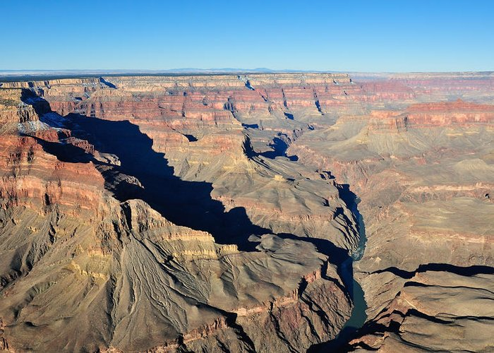 Grand Greeting Card featuring the photograph Colorado River Valley by Tom Dowd