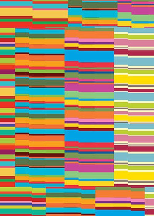 Abstract Background Color Colored Colorful Colour Coloured Colourful Line Lines Patterned Patterns Pink Stripe Stripes Structure Abstract Array Art Assorted Assortment Background Bands Canvas Colorful Colors Colours Design Display Diversity Lines Mixture Motif Pattern Print Range Retro Streaks Stripes Strips Style Variety Distort Line Vibrant Concept Conceptual Creative Decor Decoration Decorative Greeting Card featuring the painting Colorful Stripes by Ramneek Narang