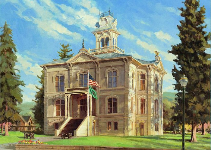 Courthouse Greeting Cards
