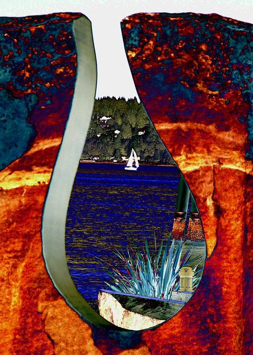 Bremerton Greeting Card featuring the photograph Come Sail Away by Tim Allen