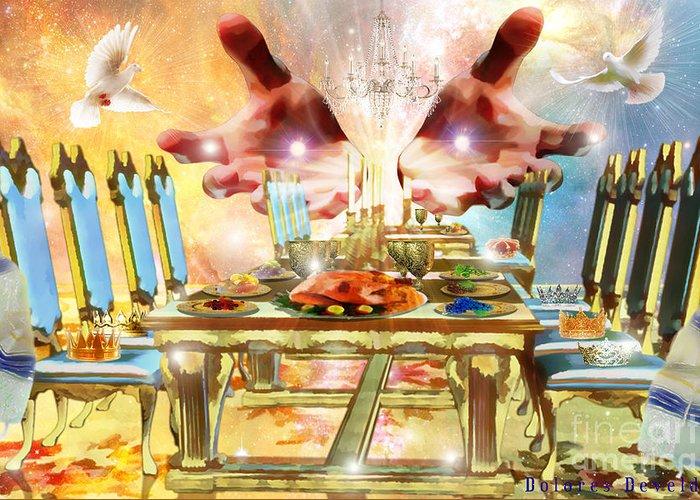 Banquet Digital Art Greeting Cards