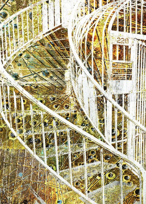 Banister Mixed Media Greeting Cards