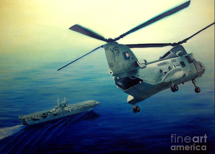 Ch-46 Greeting Cards