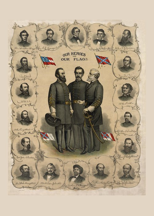 Confederate States Of America Greeting Cards
