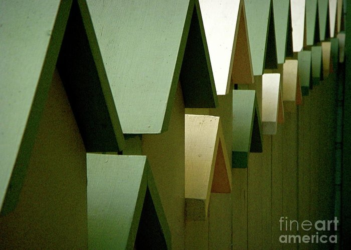 Shutters Greeting Card featuring the photograph Continuum by Amy Strong