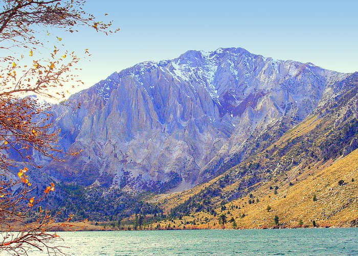 Lakes Greeting Card featuring the photograph Convict Lake by Lynn Bawden
