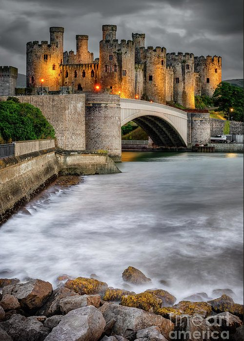 Conwy Castle Greeting Cards