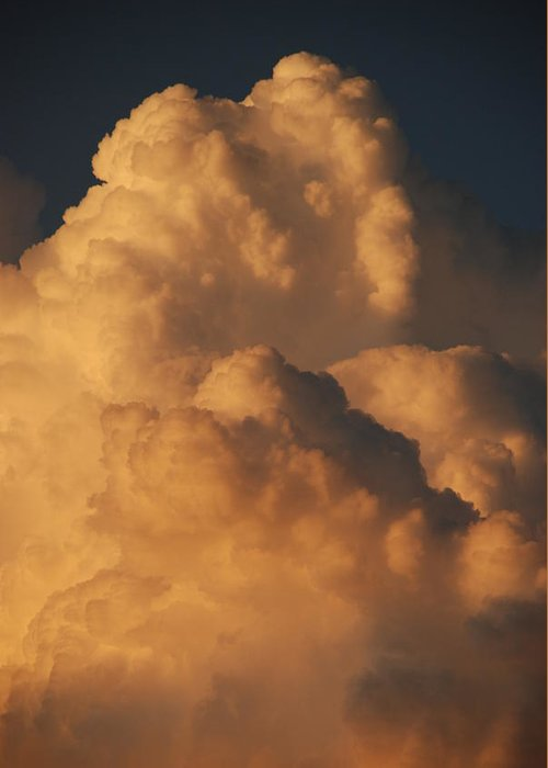 Clouds Greeting Card featuring the photograph Coppermouth by Rob Hans