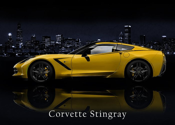 Chevrolet Photographs Greeting Cards