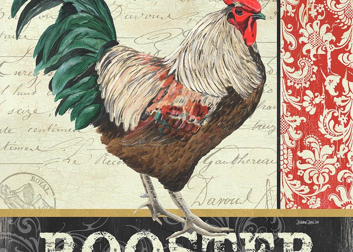 Roosters Greeting Cards