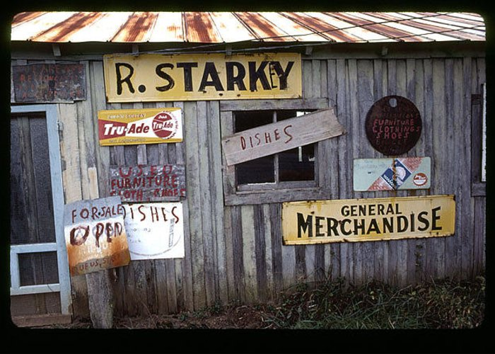 Americana Greeting Card featuring the photograph Country Store by Don Whipple