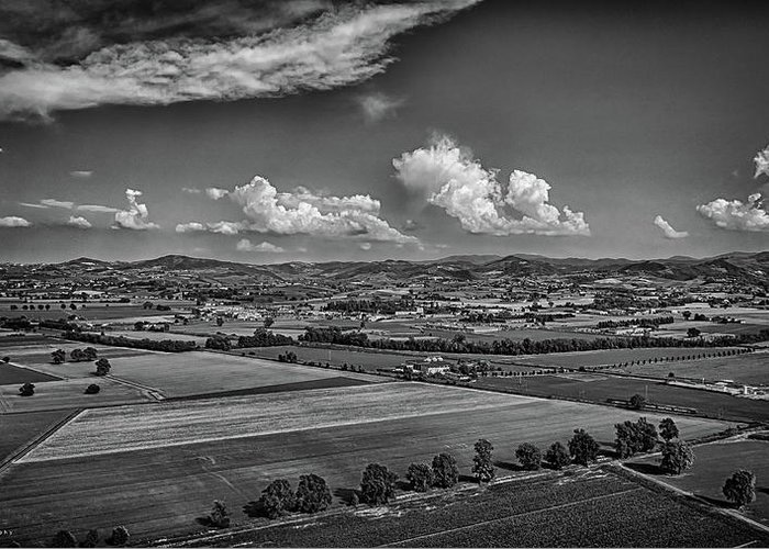 Countryside Greeting Card featuring the photograph Countryside by Nicola Maria Mietta