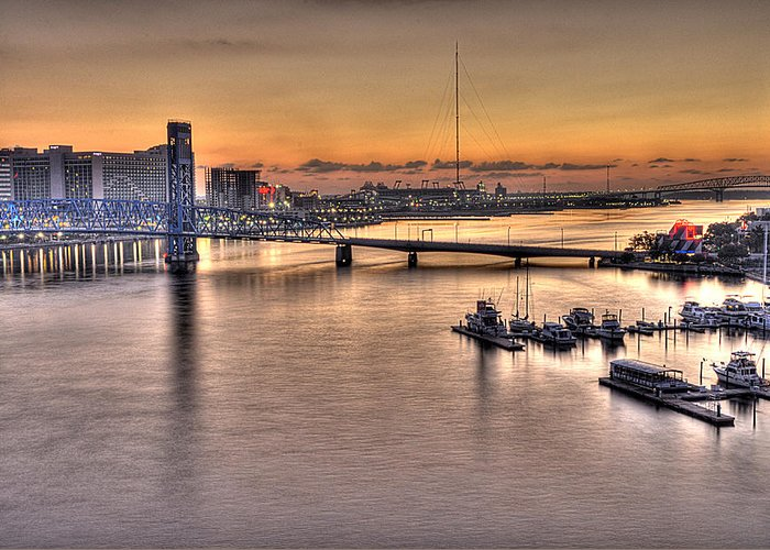 Jacksonville Greeting Card featuring the photograph Cowford Circa 2010 by William Jones