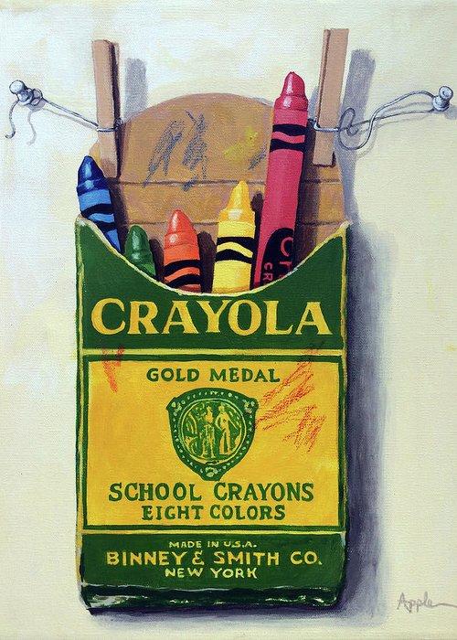 Crayon Greeting Cards