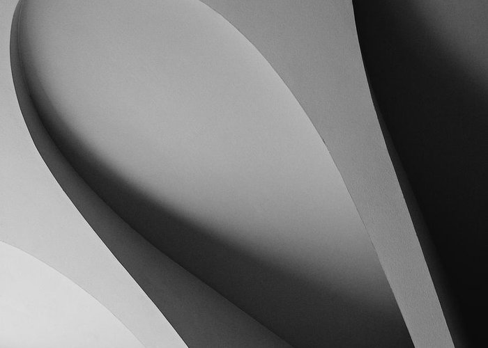 Creative Greeting Card featuring the photograph Creative Curves Series 1 by Hideaki Sakurai