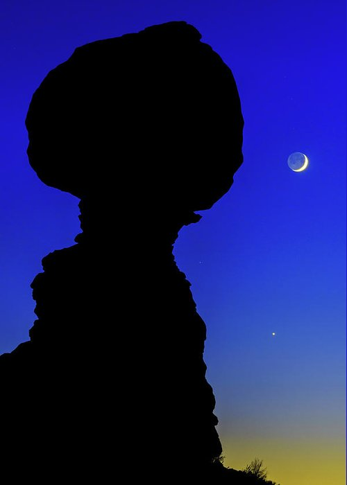 Nature Greeting Card featuring the photograph Crescent by Chad Dutson