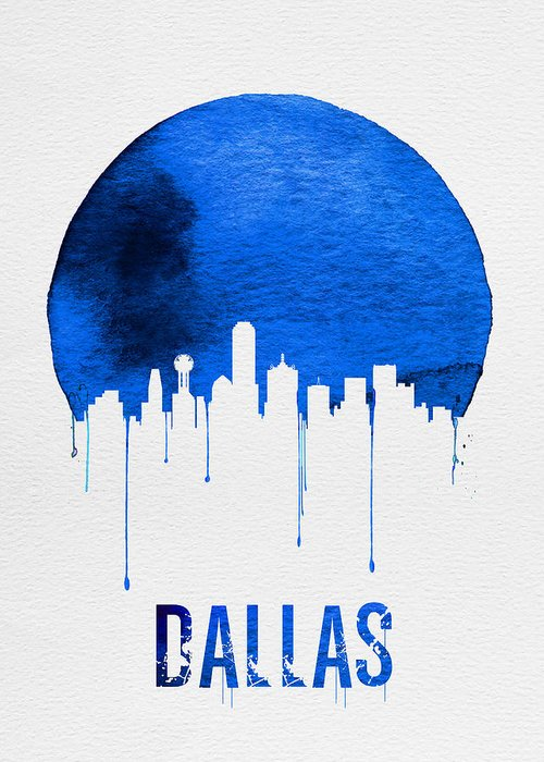 Dallas Skyline Greeting Cards