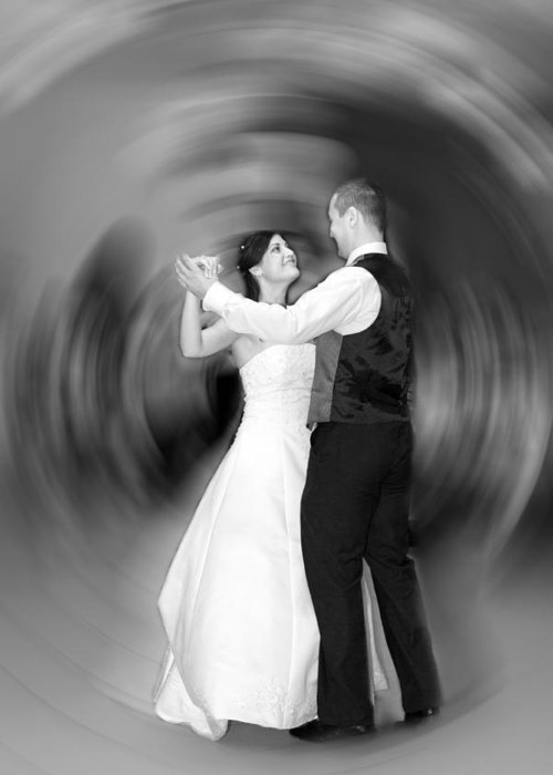 Feast Greeting Card featuring the photograph Dance Of Love by Daniel Csoka