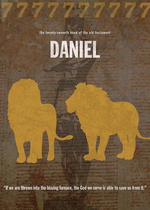 Book Of Daniel Mixed Media Greeting Cards