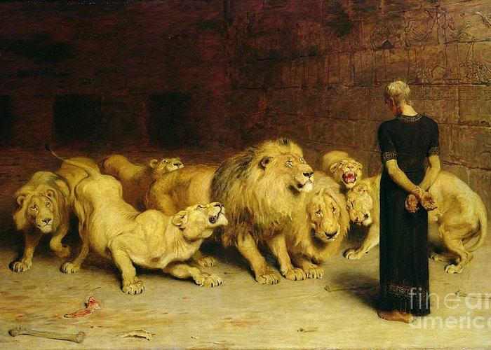 Briton Riviere Greeting Cards