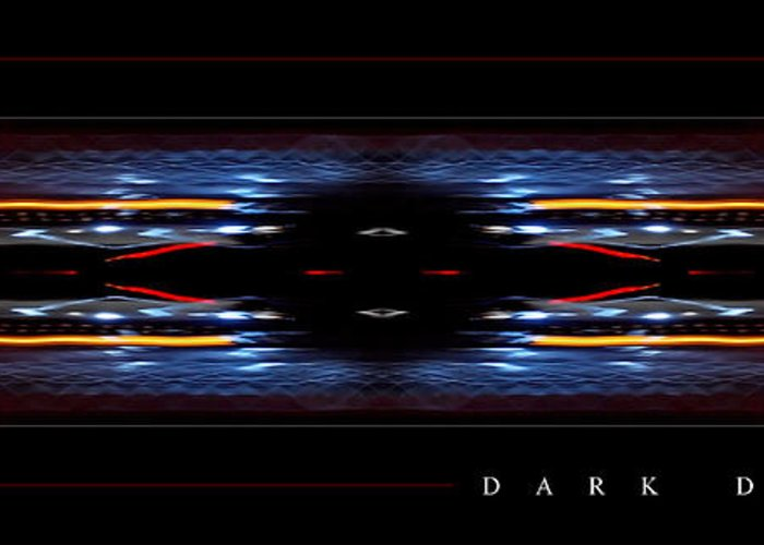 Abstract Greeting Card featuring the photograph Dark Divine by Jonathan Ellis Keys