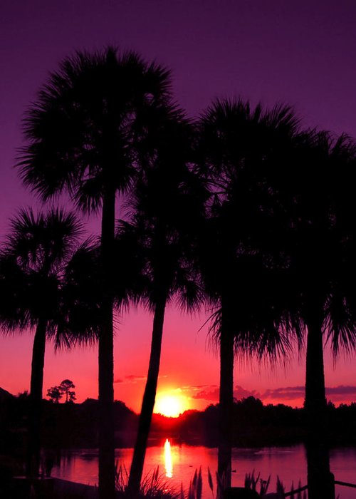 Sunrise Greeting Card featuring the photograph Dawn Of Another Perfect Day by Kenneth Krolikowski
