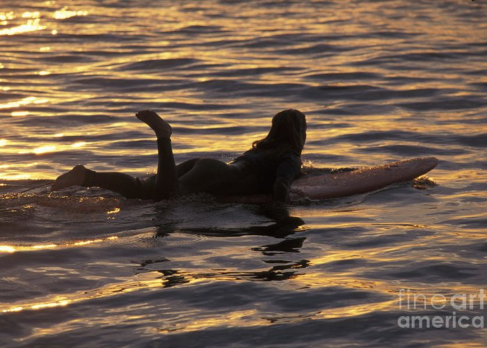 California Greeting Card featuring the photograph Dawn Patrol by Stan and Anne Foster
