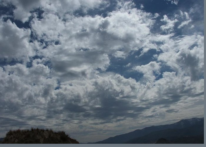 Clouds Greeting Card featuring the photograph Daydreaming by Shari Chavira