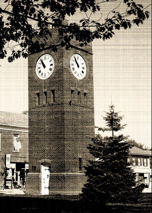 Hudson Greeting Card featuring the photograph Days Gone By by Kenneth Krolikowski