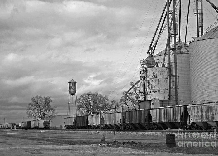Train Greeting Card featuring the photograph Days Gone By by Michelle Hastings