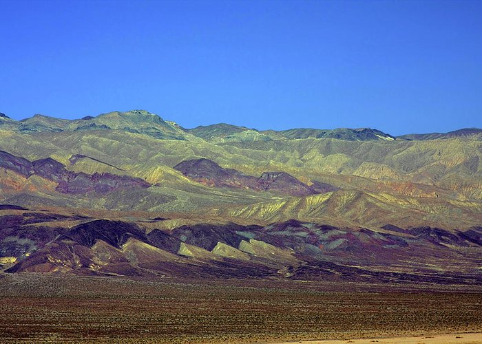 Death Valley National Park Greeting Card featuring the photograph Death Valley - Land Of Extremes by Christine Till