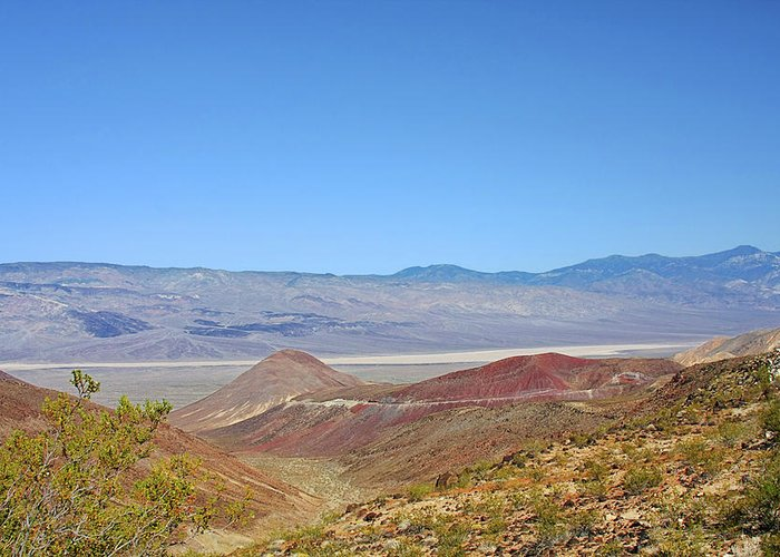 Death Valley National Park Greeting Card featuring the photograph Death Valley National Park - Eastern California by Christine Till