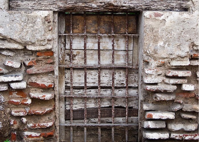 Decaying Greeting Card featuring the photograph Decaying Wall And Window Antigua Guatemala 3 by Douglas Barnett