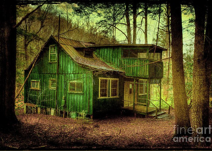 Abandoned Elkmont Greeting Cards