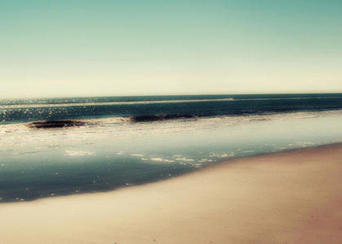 Panoramic Ocean Photographs Greeting Cards