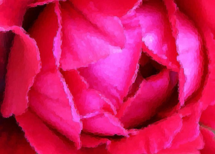 Rose Greeting Card featuring the photograph Deep Inside The Rose by Kristin Elmquist