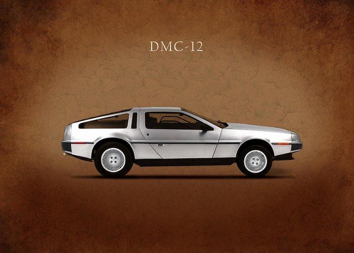 Dmc-12 Greeting Cards