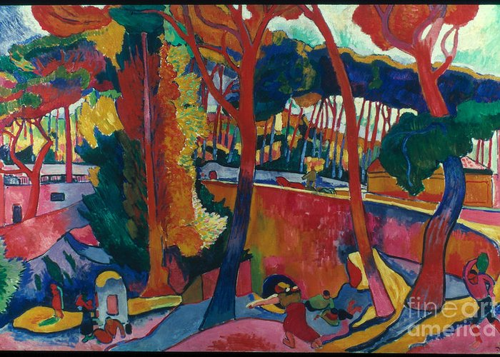 Derain Greeting Cards