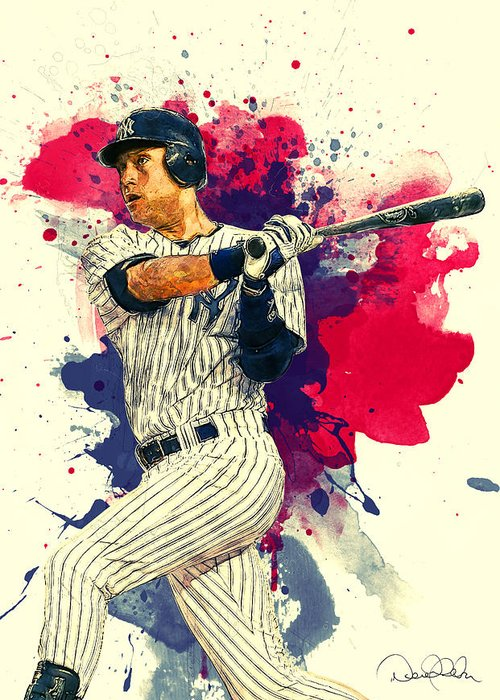 Roberto Clemente Paintings Greeting Cards
