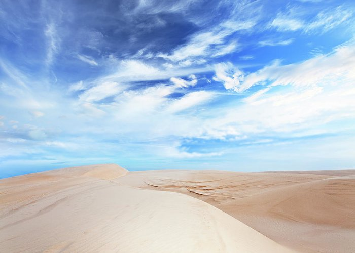 Dunes Greeting Card featuring the photograph Desert by MotHaiBaPhoto Prints