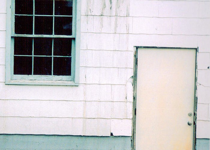Window Greeting Card featuring the photograph Desolate by Vicki Lynn Sodora